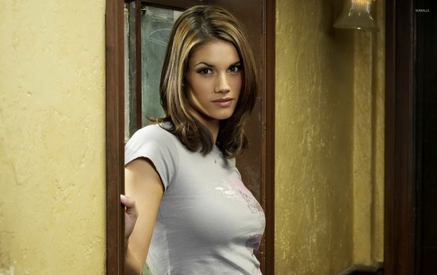 Missy Peregrym Sexy Look (click to view)