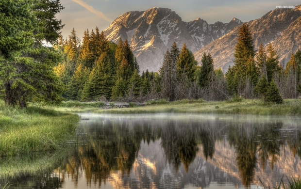 Misty Mountain Lake (click to view)
