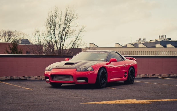 Mitsubishi 3000GT Red Car (click to view)