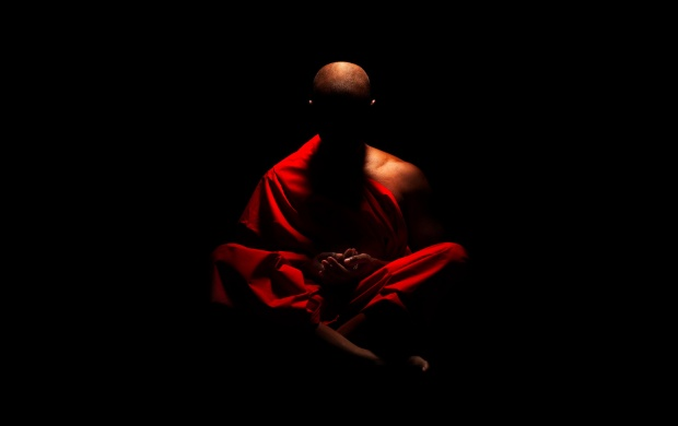 Monk Meditation (click to view)