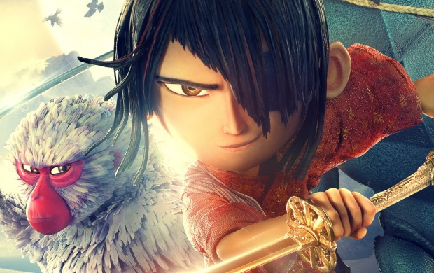 Monkey And Kubo In Kubo And The Two Strings (click to view)