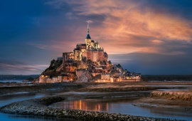 Mont Saint-Michel Normandy