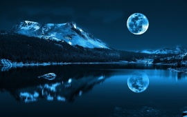 Moon Reflection Lake