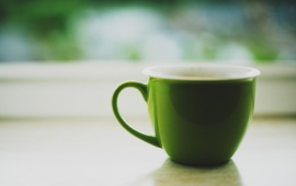 Morning Green Mug