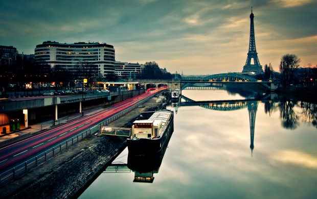 Morning Reflections In Paris (click to view)