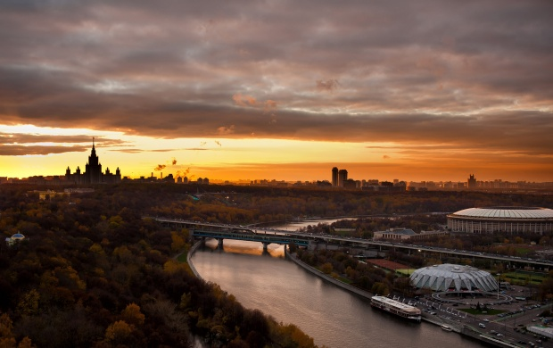 Moscow Evening Landscapes (click to view)