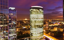 Moscow Night Panorama