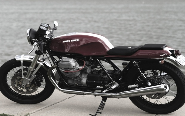 Moto Guzzi 850t3 Cafe Racer (click to view)