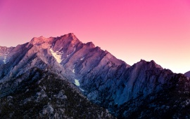 Mount Whitney Hills Sunset