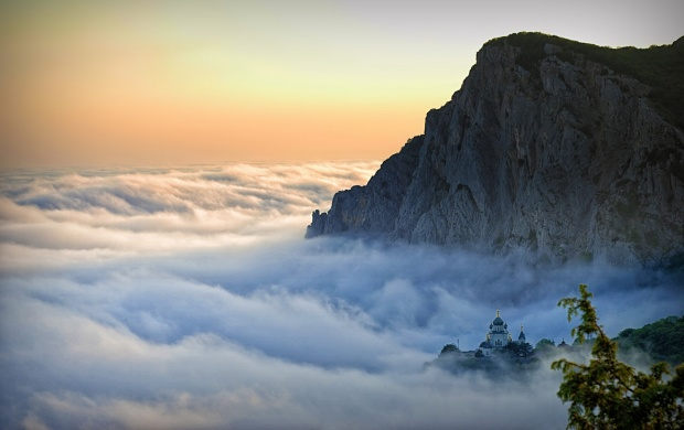 Mountain Above The Clouds (click to view)