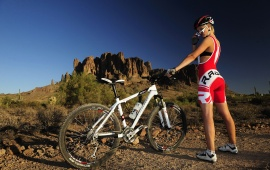 Mountain Bike Girl