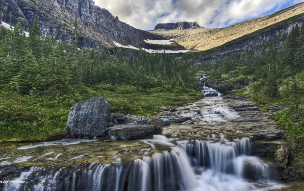 Mountain Waterfall (click to view)