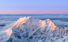 Mountains Caucasus Sunrise