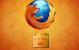 Mozilla Firefox Here Lives Me