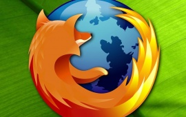 Mozilla firefox  In Green