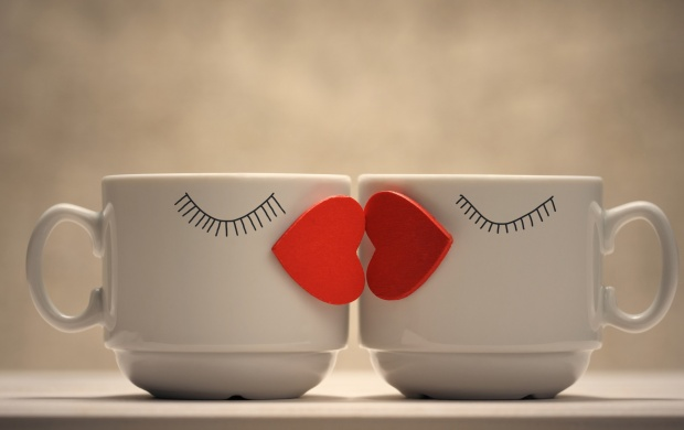 Mug Couple Love Kiss (click to view)