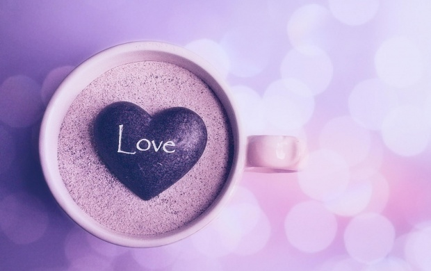 Mug In Stone Heart (click to view)