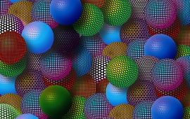 Multi Coloured Balls