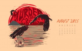 Murder Of Crows August 2015