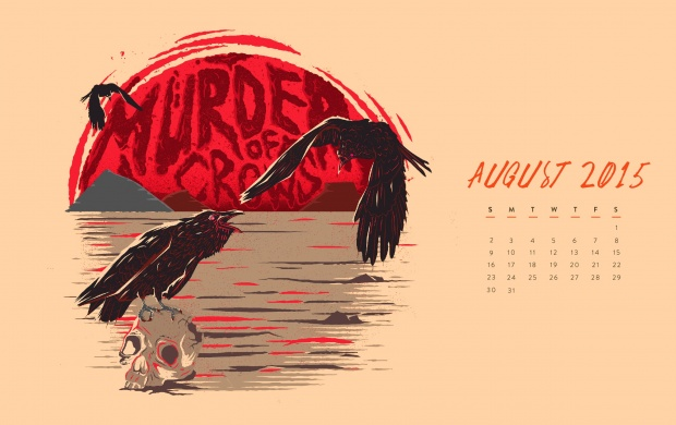 Murder Of Crows August 2015 (click to view)