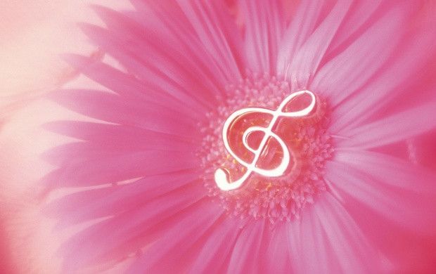 Music Notes In Flower (click to view)