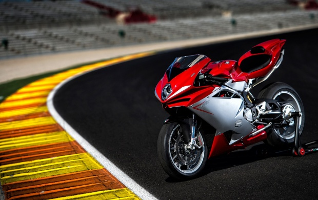 Mv Agusta F4 On Road Wallpapers