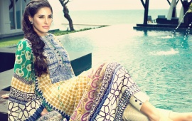 Nargis Fakhri In Elan Lawn Collection