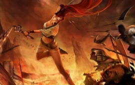 Nariko Of Heavenly Sword