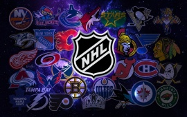 National Hockey League Team Posters