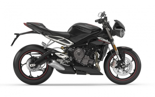 New Triumph Street Triple Debuts with 765cc Engine (click to view)