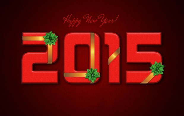 New Year 2015 Red Background (click to view)