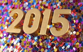 New Year Confetti 2015