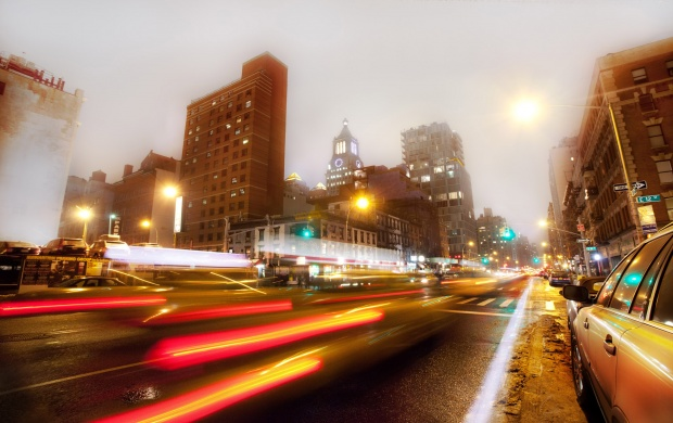 New York Avenue Night (click to view)