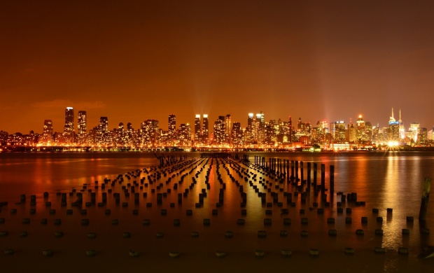 New York City Hudson River Weehawken (click to view)