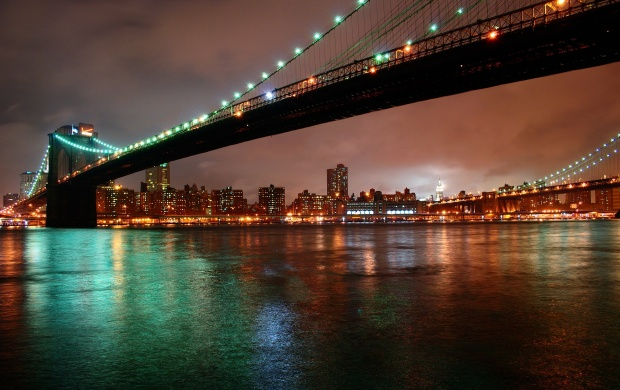 New York City Night Lights (click to view)