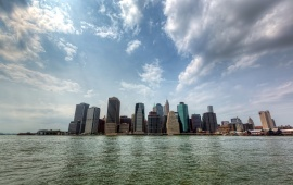 New York Skyline At Day