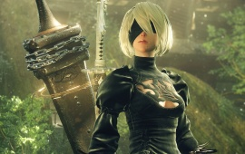 Nier Automata 5k 2b Android Girl