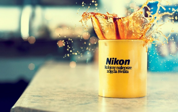 Nikon Coffee Splash (click to view)