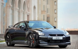 Nissan Gtr Black Edition Car