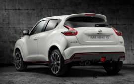 Nissan Juke Nismo Rs Rear View