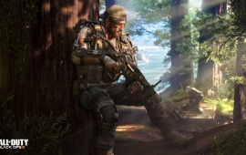 Nomad Call Of Duty Black Ops 3 Specialist 4k Soldier