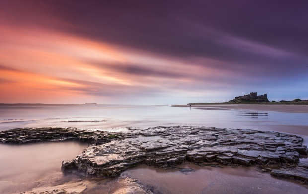 Northumberland Morning Beach Stones (click to view)