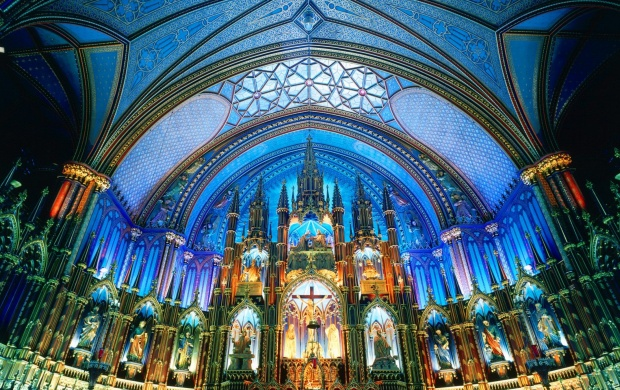 Notre Dame Basilica Montreal Canada (click to view)