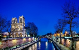 Notre Dame Cathedral Paris France