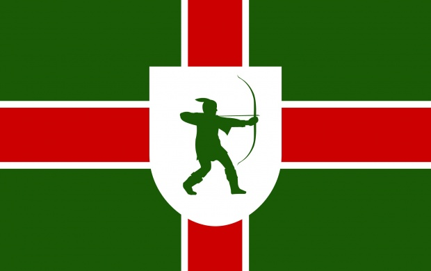 Nottinghamshire Flag (click to view)