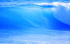 Ocean Blue Waves