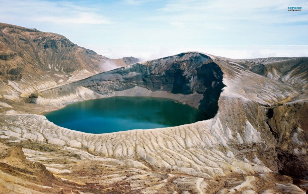 Okama Crater Lake (click to view)