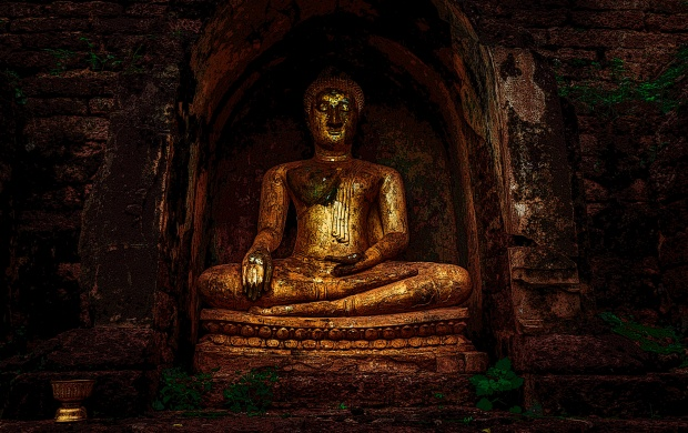 Old Buddha Statue Wallpapers