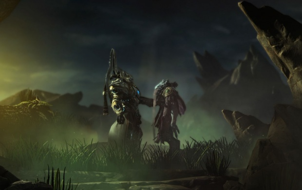 Old Friends Starcraft Ii Wallpapers