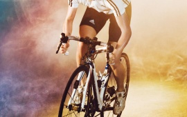 Olympics Cycling Girl